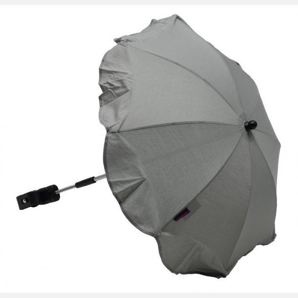 Luksus Parasol Sølvgrå, Ninaclip. !! TILBUD i JUNI måned. 75008.
